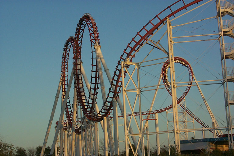 six flags great adventure nj. Great American Scream Mach 2
