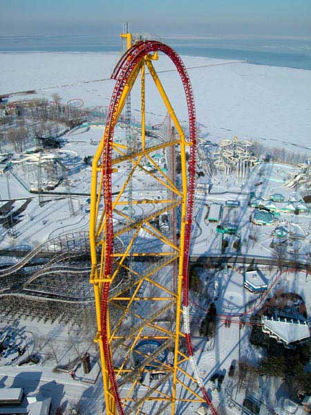 Would you ride the Dragster at cedar pointe