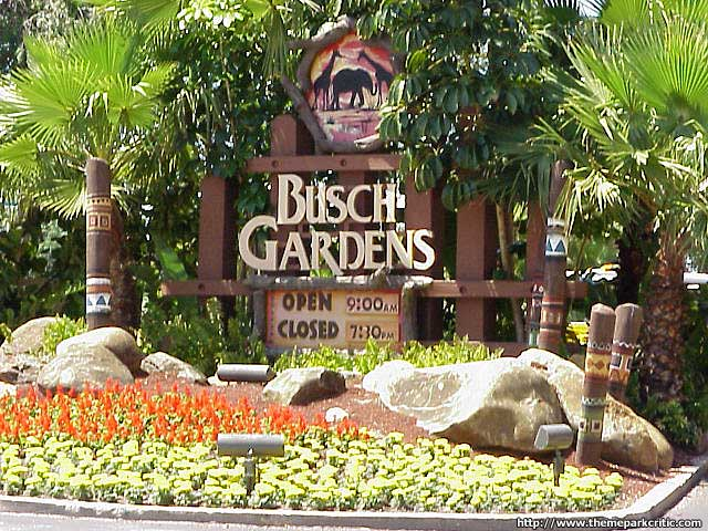 Busch Gardens Tampa Florida Theme Park Critic Guide To The Best Theme Parks And Rides