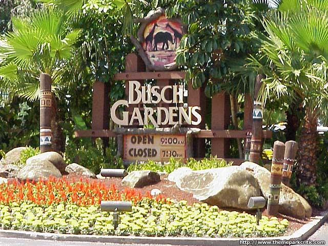 Busch Gardens Tampa Florida Theme Park Critic Guide