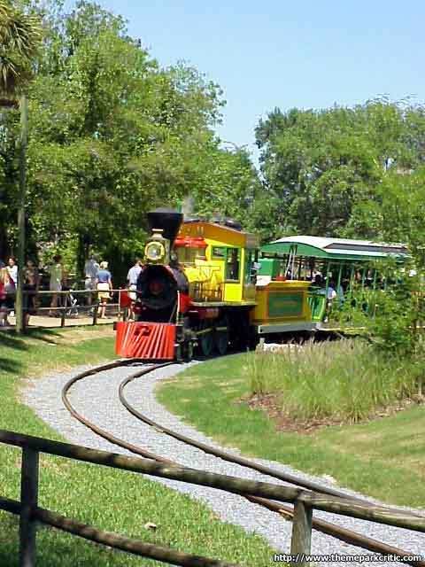 Bushe Gardens Train Pictures 2
