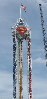 Superman Six Flags Over Texas