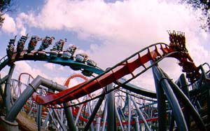 Picture of Triwizard Tournament - Hungarian Horntail (Blue) Theme Park Critic Ride of the Day