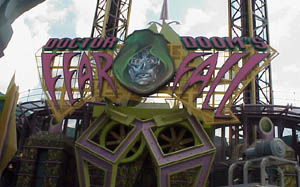 Picture of Doctor Dooms Fearfall Theme Park Critic Ride of the Day