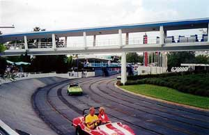 Picture of Tommorow Land Speedway Theme Park Critic Ride of the Day