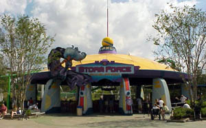 Picture of Storm Force Acceletron Theme Park Critic Ride of the Day